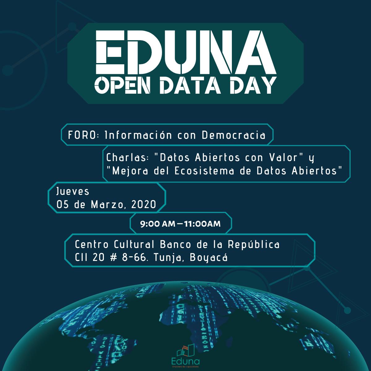 Foro Open Data Day